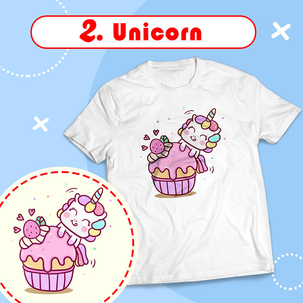 2_baju_kaos_couple_keluarga_ultah_kaos_family_ulang_tahun_anak_custom_unicorn