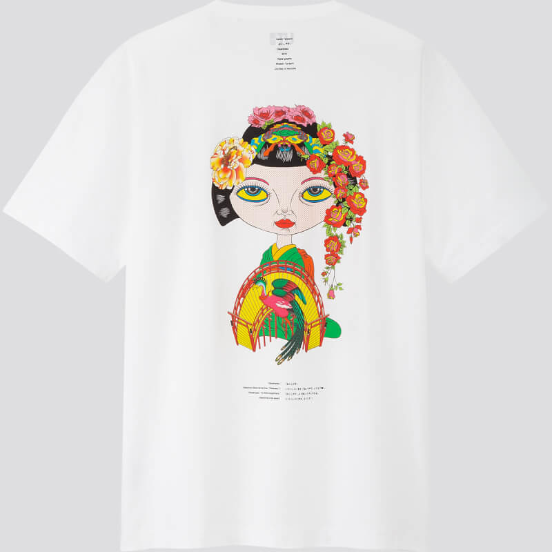 空山基、田名網敬一出擊!UNIQLO x 日本藝術單位 NANZUKA 推出第一彈「NEO-MIYAGE」聯名UT印花T恤