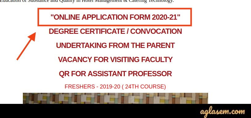 How to apply for AIHMCT 2020 Application Form?