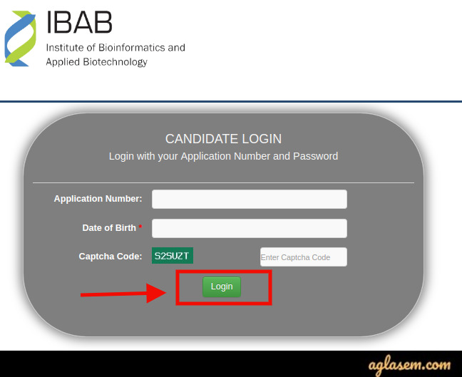 IBAB Bengaluru 2020 Login Portal