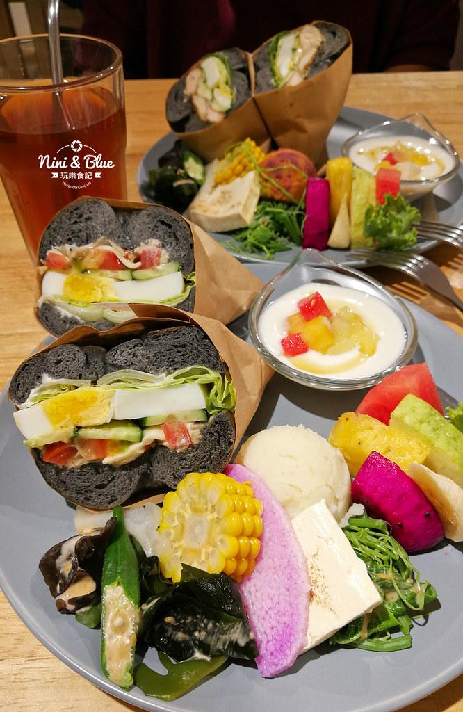 初 好食True House蔬食 貝果12