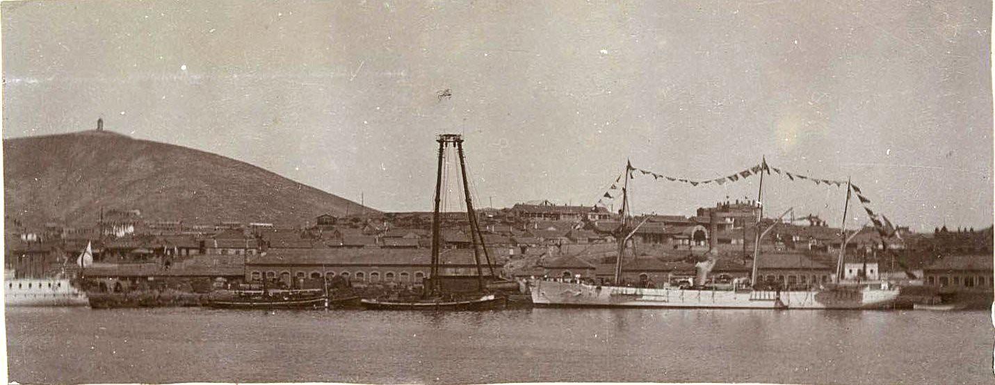 03. Корабли в гавани.
