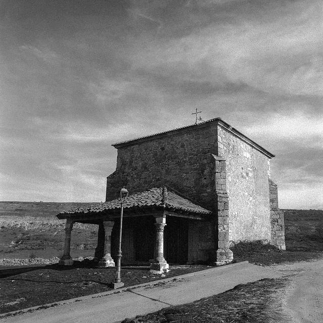 Galve de Sorbe, ermita de la Virgen de la Soledad.