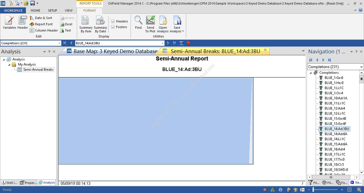 Working with Schlumberger OilField Manager 2014.1 full license