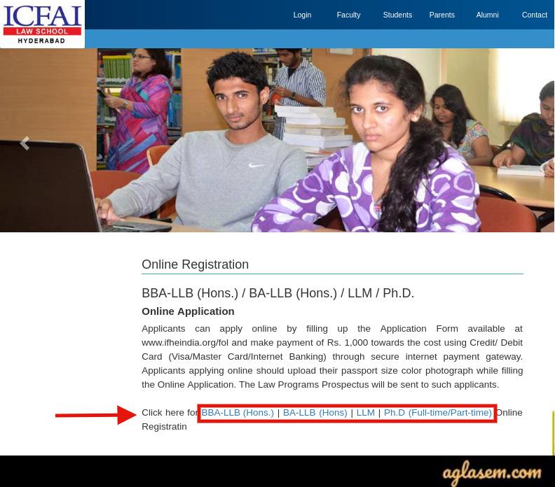 ILSAT 2020 Application Form