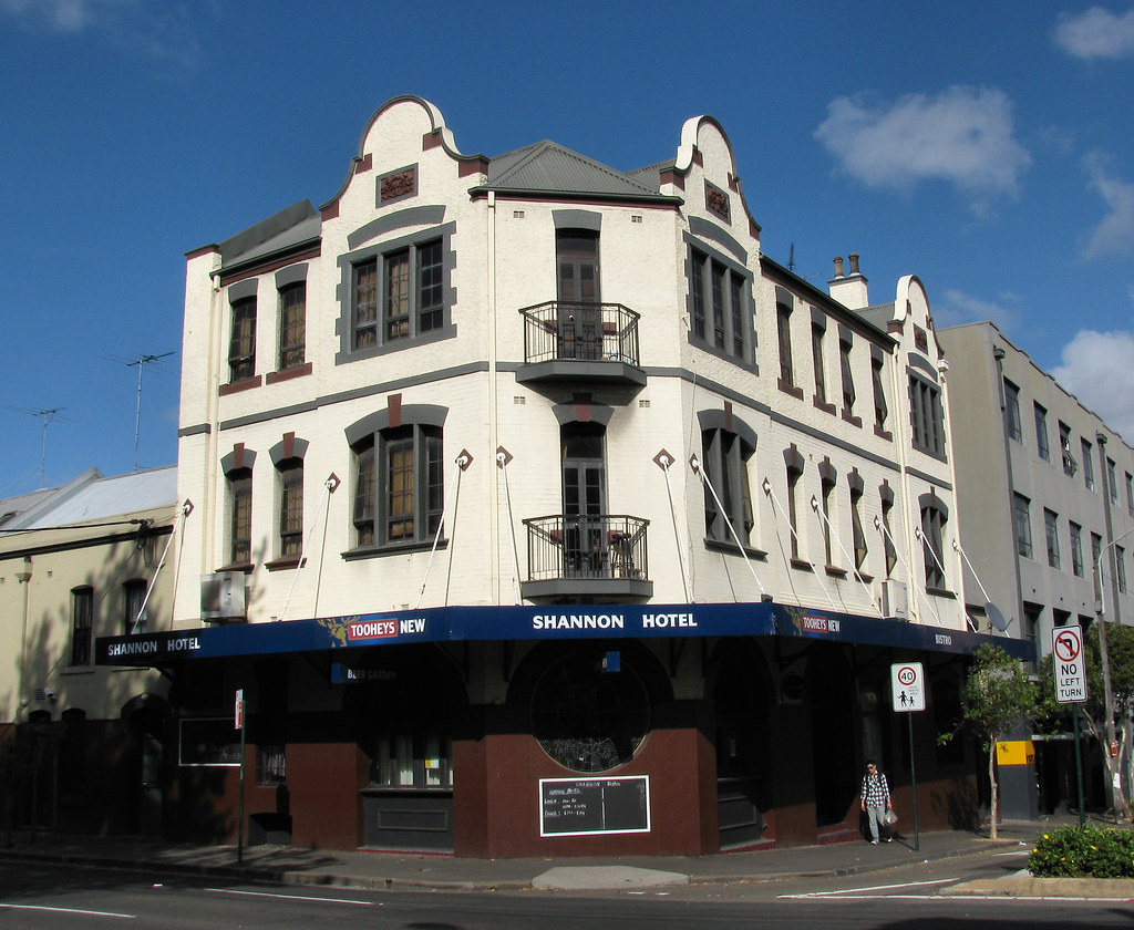 Shannon Hotel, Chippendale, Sydney, NSW.