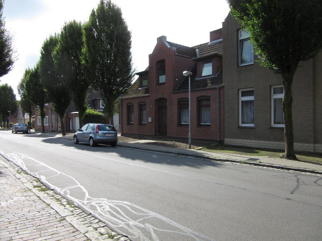 Blick in die Rüsdorfer Straße