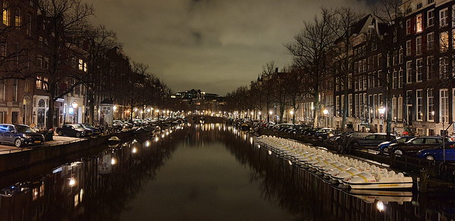 Amsterdam by night!!