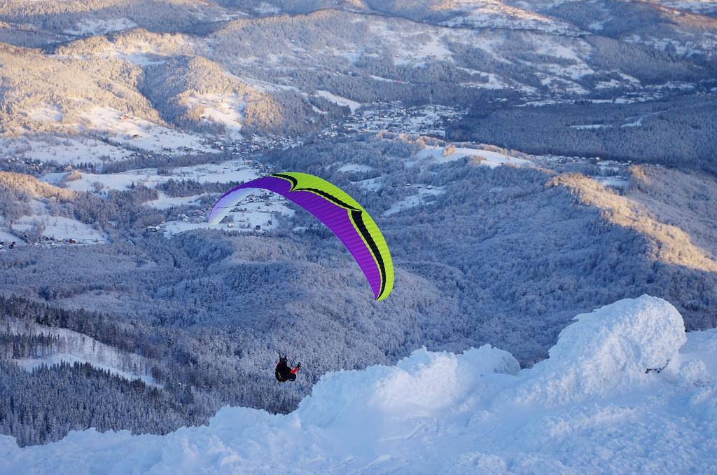 Wyżej niż paralotnie / Higher than paragliders