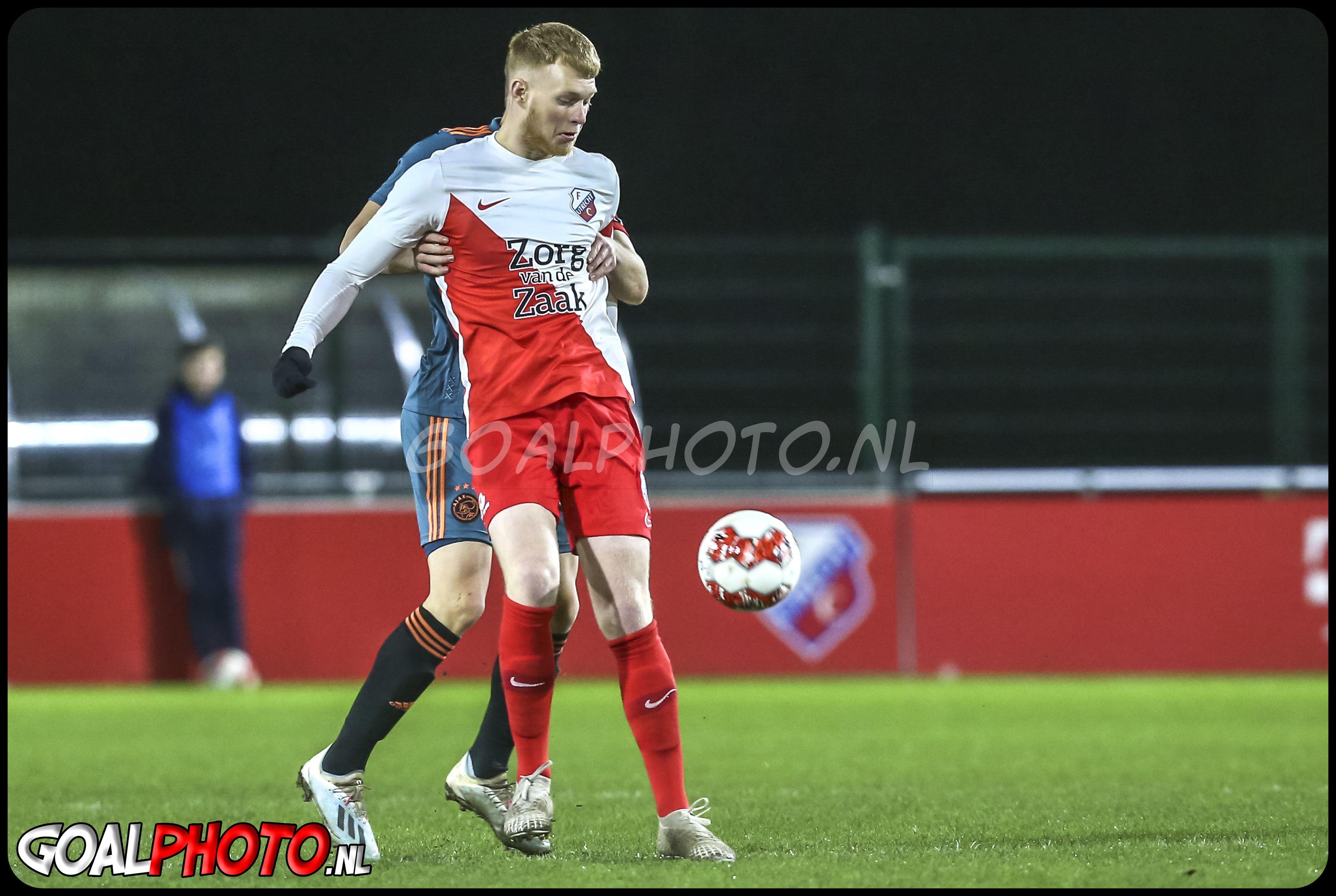 Jong FC Utrecht - Jong Ajax 10-02-2020