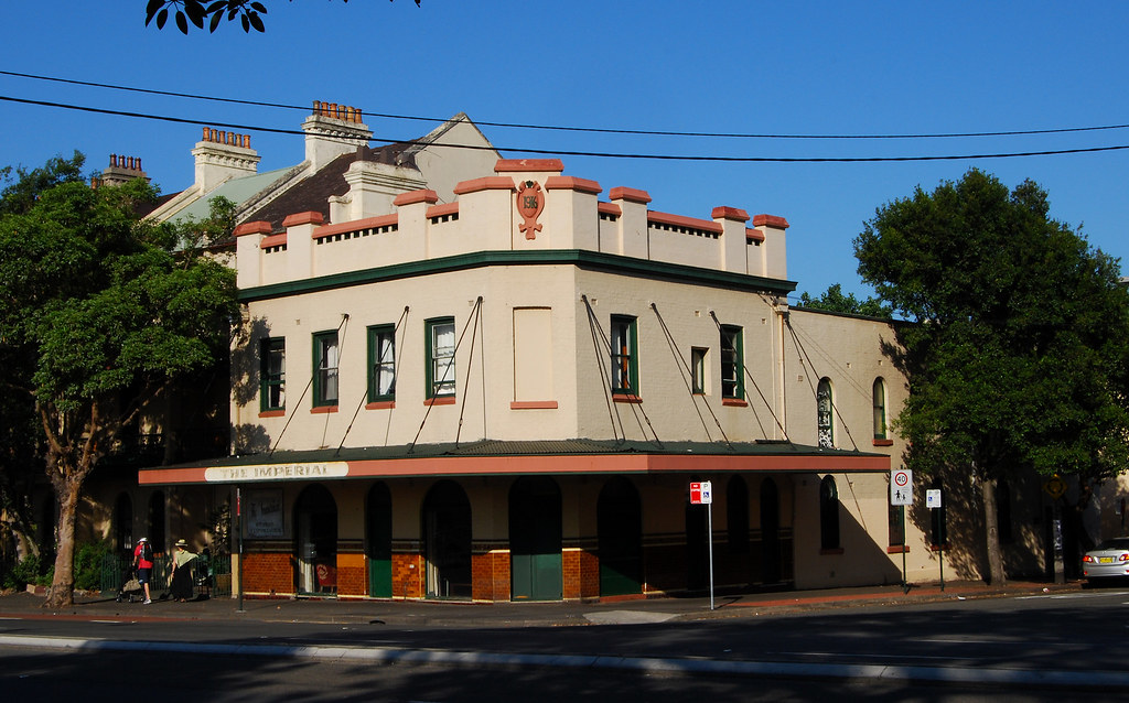 Imperial Hotel, Chippendale, Sydney, NSW.