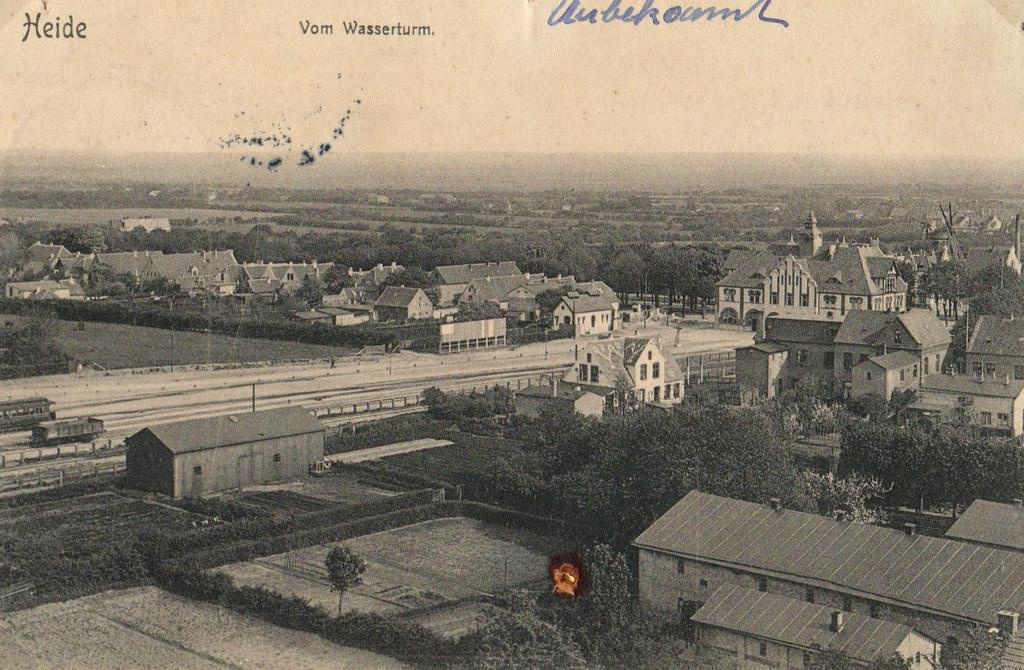 Blick auf Rüsdorf im Jahr 1907