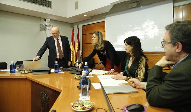 Comisión no Permanente de Estudio para alcanzar un Pacto contra la Despoblación en Castilla-La Mancha.