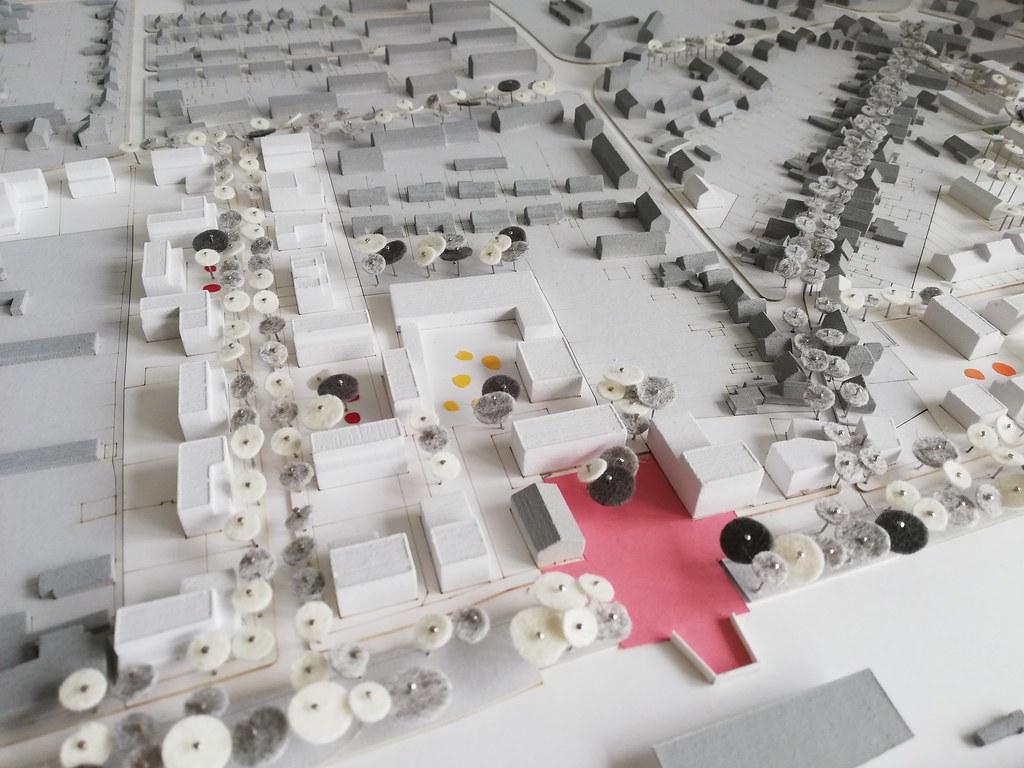 Quartiersmodell des Rüsdorfer Kamps