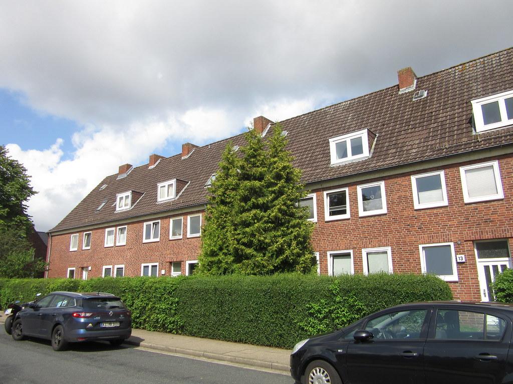 Mehrfamilienhaus in der Hans-Böckler-Straße