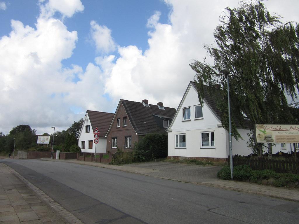 Einfamilienhäuser in der Berliner Straße