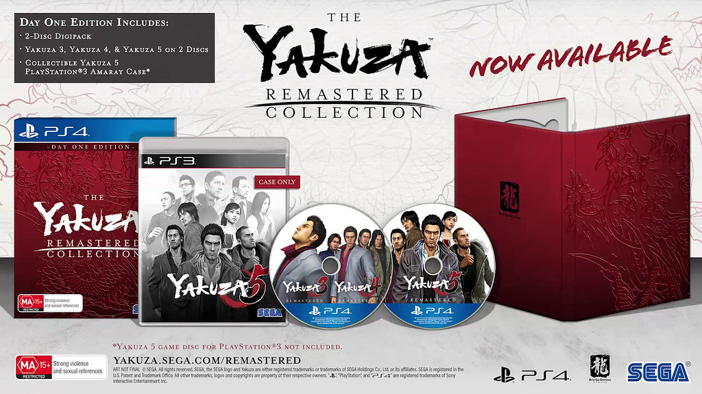 Yakuza Remastered Collection on PS4