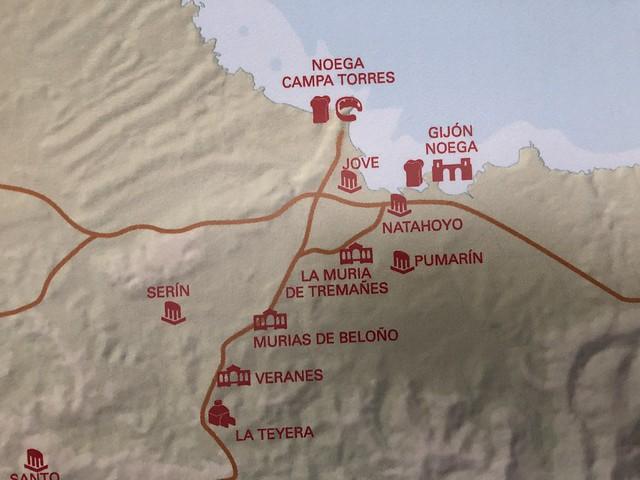 Yacimientos arqueológicos de Gijón