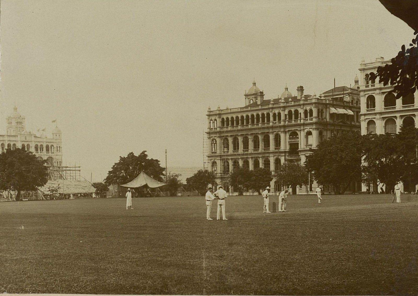 12. Крикет в Гонконге