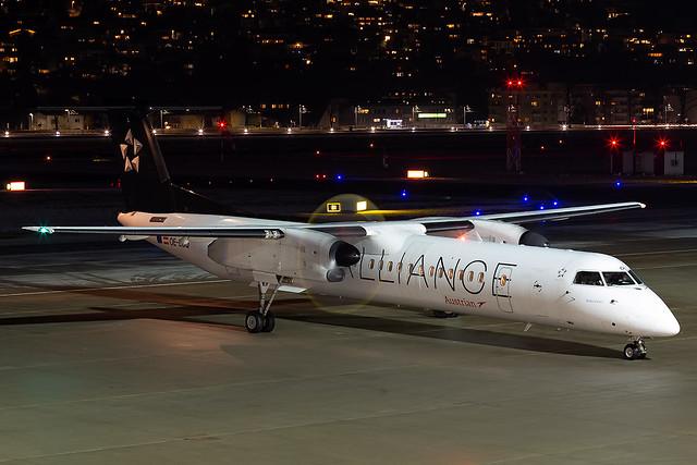 OE-LGO Star Alliance Livery Austrian Airlines Dash-8 Q400 Innsbruck Airport
