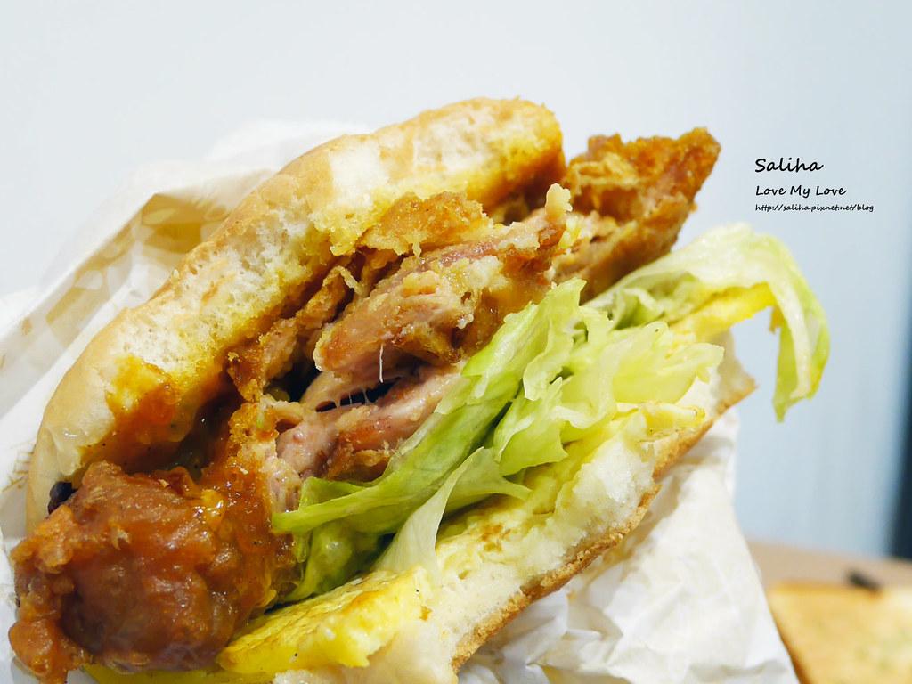 新北板橋早餐店早安公雞農場晨食好吃必吃早午餐brunch漢堡吐司 (5)