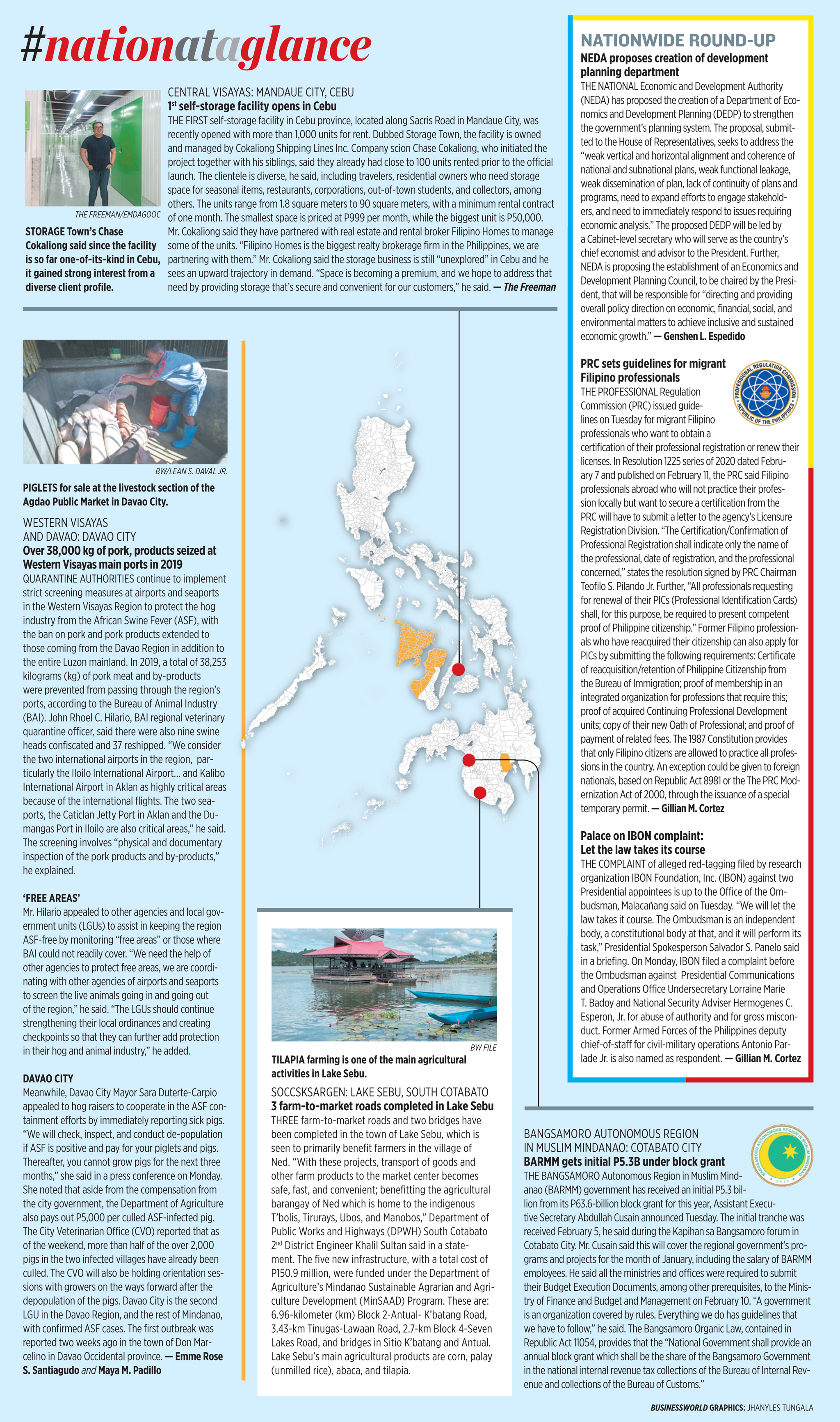 Nation at a Glance — (02/12/20)