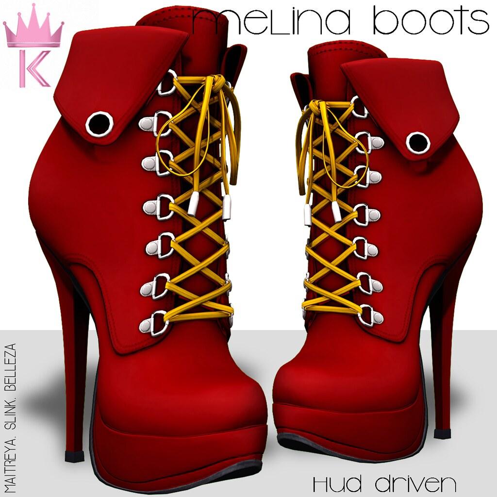 .KIMBRA. - MELINA BOOTS