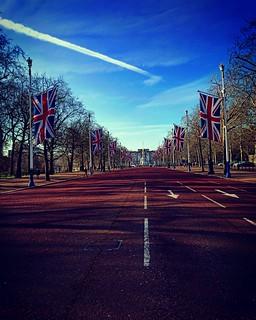 Buckingham Palace Road...
