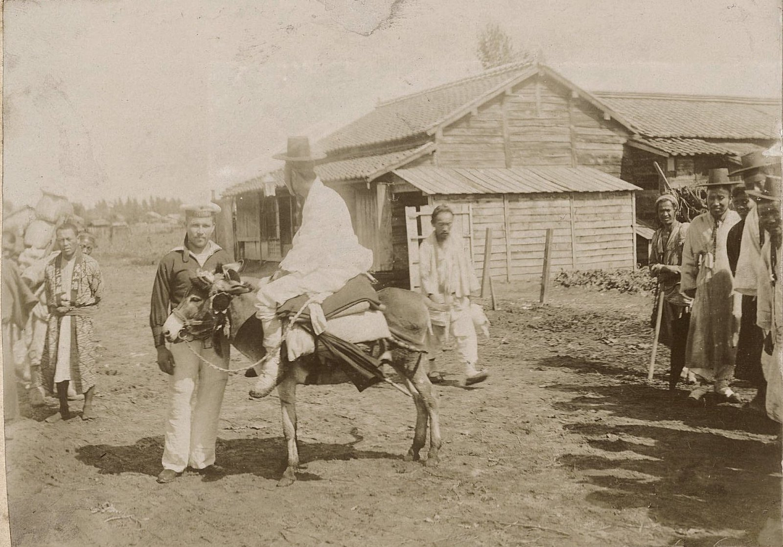 1901-1902. «Поход эскадренного броненосца «Пересвет» из Кронштадта на Дальний Восток». Часть 3