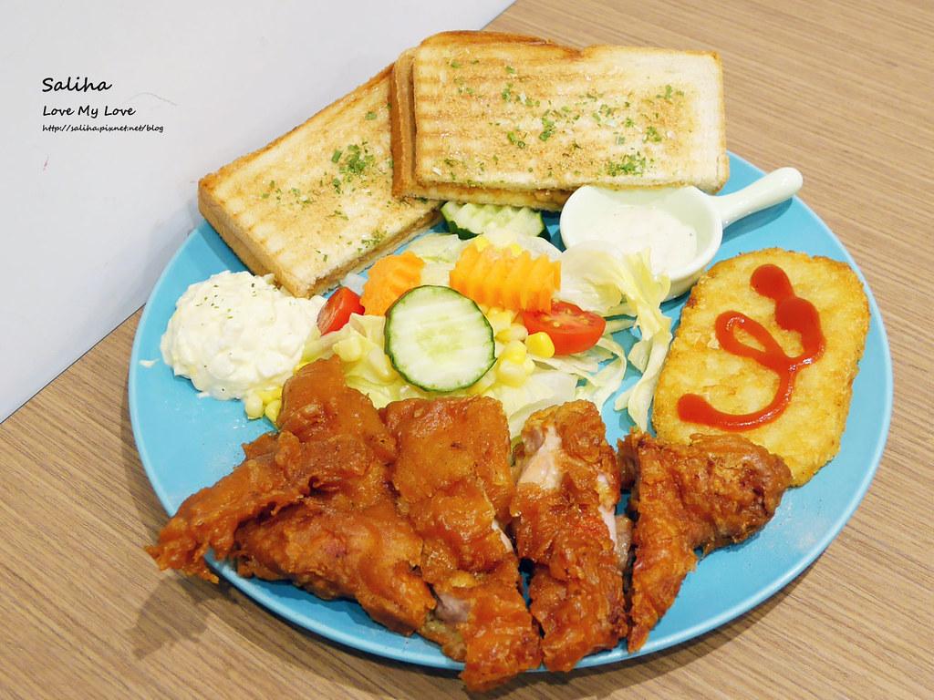 新北板橋捷運新埔站美食餐廳推薦早餐店早安公雞早午餐雞腿飯好吃麵店 (3)