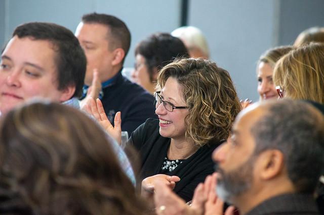 Elizabeth Carey Receives the Dr. Sheryl Mitchell Servant Leadership Award