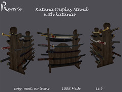 Katana Stand with display Models