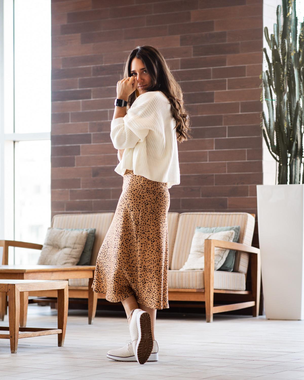camille dg jupe léopard