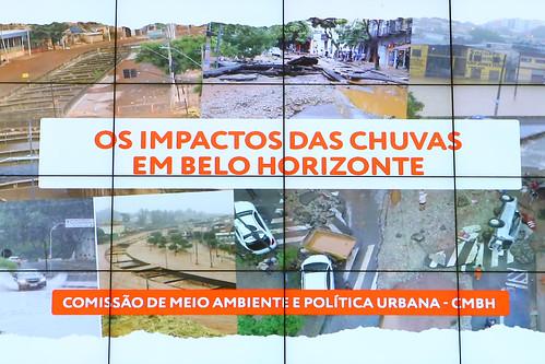 Audiência pública para debater os impactos das chuvas no mês de janeiro - Comissão de Meio Ambiente e Política Urbana
