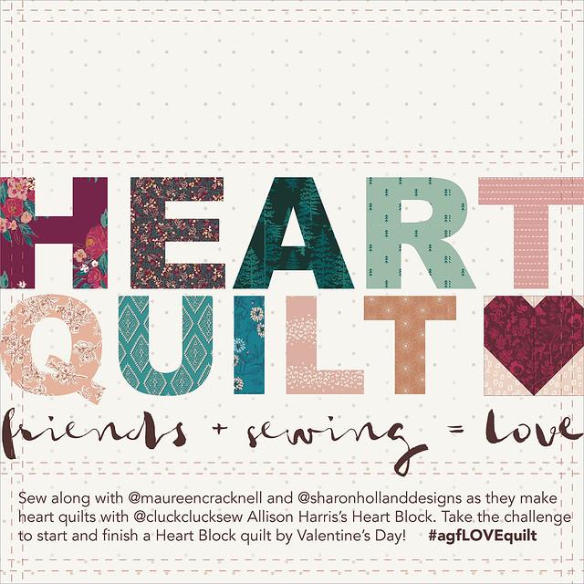 Heart Quilt Maker Badge