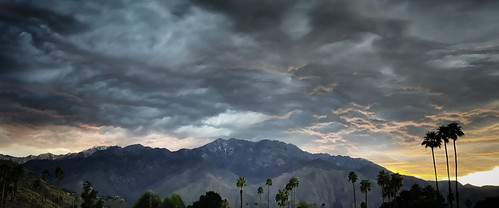 dramaticskies sunset desert palmsprings california