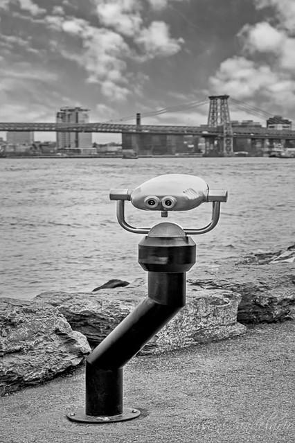 Viewing The Williamsburg Bridge
