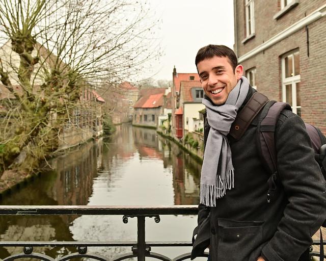 En el puente de la calle Katelijnestraat