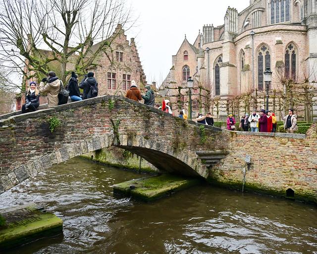 Puente de Bonifacio en Brujas