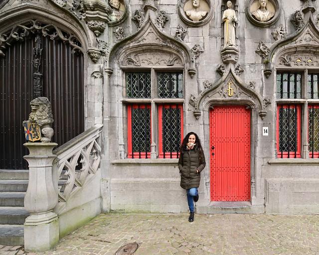 Brugse Vrije, el palacio de justicia de Brujas