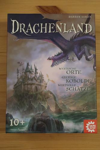 """Karten- und Würfelspiel """"Drachenland"""" (= Nachfolger von  """"Dragonwood"""")"""