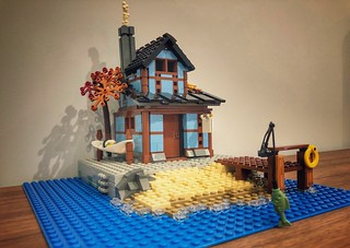 Ninjago City, Fisherman hut | by marc-entrega