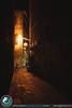 Passeggiando per le vie di Pienza di sera