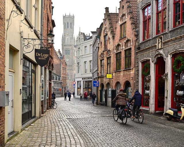 Sint-Jakobsstraat, de las calles más bonitas que ver en Brujas