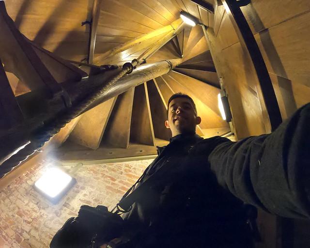 Interior del campanario de Belfort