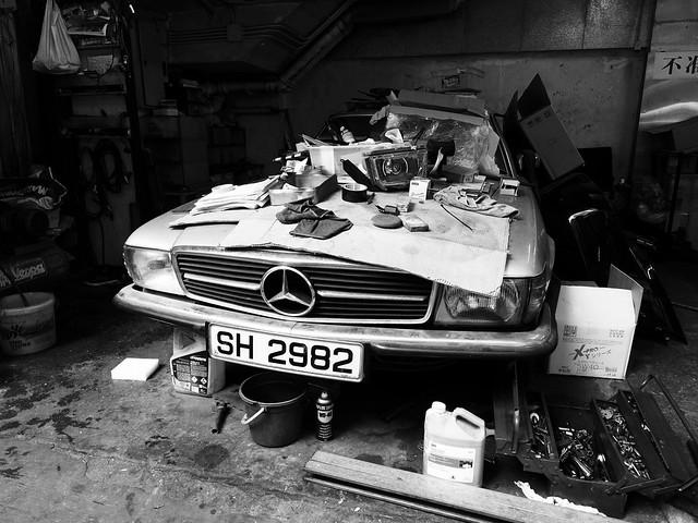 Mercedes Bench