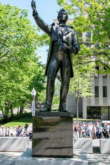 Louis Joseph Papineau Statue, The Parliament Buildings, Quebec