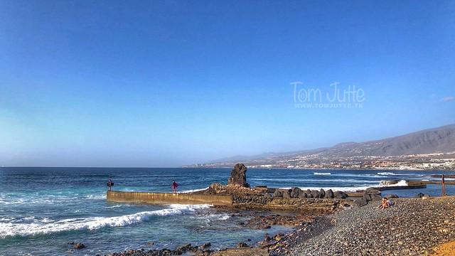 Wave Surfers, Playa de las Américas, Tenerife, Spain - 3160