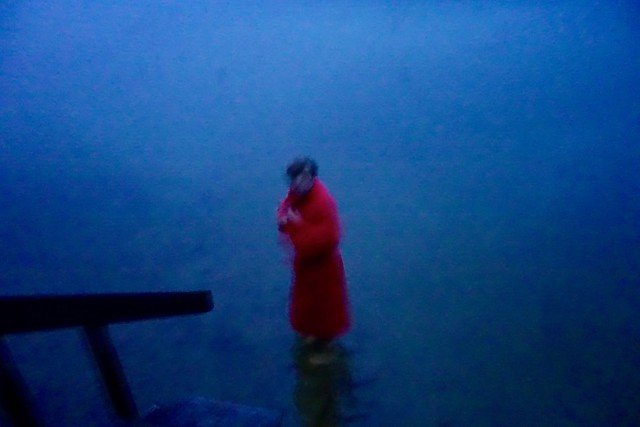 Red boy in blue 2