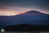 Alba sul monte Amiata